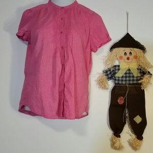 Woman's pink St Johns Bay blouse size xl